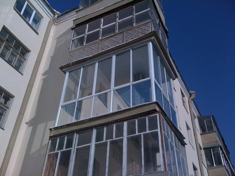 Остекление балконов и лоджий в тюмени под ключ - студия окна.